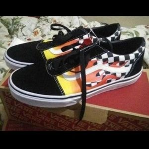 Vans flame checkered old skool Checkeredboard 7M